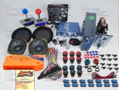 Arcade parts Bundles kit With 960 in 1 Pandora Box 5 Joystick Microswitch LED illuminated Buttons for Arcade Cabinet Machine