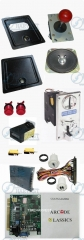 Arcade parts Bundle kits With 60 in 1 PCB Pushbutton Power supply Coin acceptor coin door to Build Up Arcade Machine By Yourself