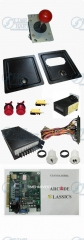 Arcade parts Bundles kits With Joystick Push button Power supply Coin door Jamma harness to Build Up Arcade Machine By Yourself