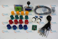 Arcade parts Bundles kit With Joystick,Pushbutton,Microswitch,2 player USB to Jamma board to Build Up Arcade Machine By Yourself