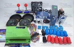 Arcade parts Bundles kit with Pandora Box 4S plus upgraded version game board American Style Joystick Button Coin mech Fan Net