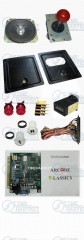 DIY Arcade accessories Bundles kits With Joystick Pushbutton Microswitch Coin door Jamma harness for Arcade Machine/Game cabinet
