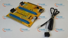 2 in 1 Jamma extension converter PCB/ 2-in-1 MultiJAMMA Switcher PCB JAMMA Adapter for arcade machine/coin operator game cabinet