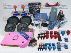 Arcade parts Bundles kit With 1300 in 1 Pandora's Box 6 Joystick Microswitch illuminated Buttons Build up Arcade Cabinet Machine