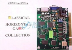 Classical game 19 in 1 with 5,6 button function Game PCB for Cocktail Arcade Machine/Multi horizontal game board for table top