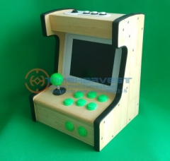 "7"" LCD Table Top Arcade Machine With Classical game 800 in 1 Gamebox Normal 8 ways joystick & button add the games by yourself"