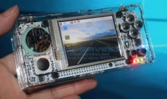 PiX Portbable Horizontal Ver. Pocket mini arcade game 2.8' HD LCD Raspberry Pi + 32G card it need booking & available in 20 days