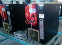 High Quality Coin operated coffee vending machine with multi coin accepter/Commercial Hot Drinks tea Coffe Vending Machine