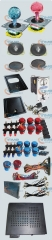 Arcade Bundle With 412 in 1PCB,16A Power Supply,Joystick,Pushbuttons,Microswitchs,jamma harness,Speakers,coin accepter,coin door