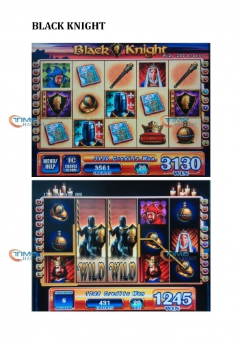 Black Knight gambling game board/WMS NXT Casino Game PCB support touch screen and bill accepter for slot coin operator machine