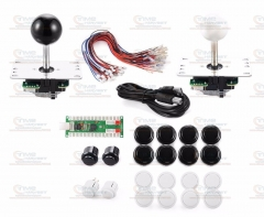 Zero Delay Arcade Game USB Encoder PC Joystick DIY Kit for Mame Jamma Other PC Fighting Games Arcade Mame Games Rocker