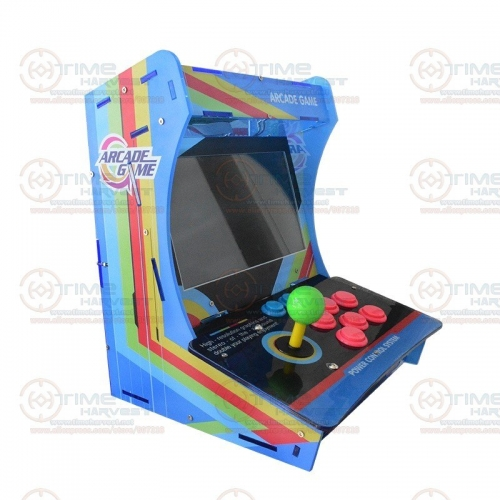 "10.4"" LCD Mini Table Top Acrylic Cabinet With New Game Board 999 in 1 Jamma Arcade Console 10.4 inch Arcade game machine"