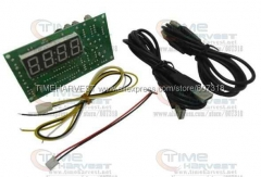 Timer control board/timer board coin operated Timer Control Board Power Supply for coin acceptor selector device, USB devices