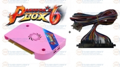 2018 New Original Pandora Box 6 JAMMA Ver. JAMMA harness 1300 in 1 Games board CGA VGA HDM 720P for Arcade Game Marchine Cabinet