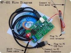 USB computer control board for Coin Operated Computer/USB timer control Adpter board /used at almost any public or private place