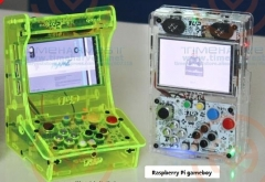 Pocket mini arcade game 3.5 inch HD IPS LCD Raspberry Pi 3 + 32G card Recalbox system it need booking and available in 20 days
