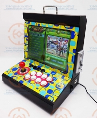 New Arrival 15 inchs LCD Coin Operated Mini Family Table Top Machine With 1299 in 1 Game PCB Normal joystick & Locking Buttons