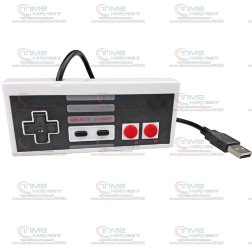 2 pcs Hot USB joypad Wired USB gamepad for NES FC PC MAC New Classic USB Controller Gaming Gamer JoyStick For NES Windows PC