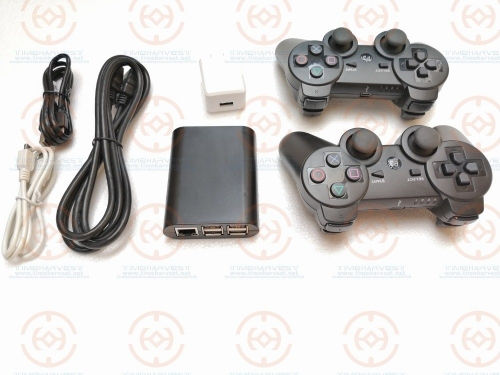 Happy Game Time Family Multi Games 5000 in 1 DIY Custom Games Super Multi Games Box with wireless gamepad HDMI output for TV