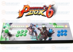 Pandora box 6 Family Game Console 2 Player 1300 in 1 TV Fighting Joystick Arcade Rocker with 4 cores CPU HDMI VGA 720P HD Output