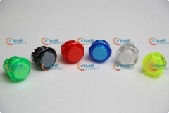 20 pcs original (OBSC-30) Sanwa Push Button transparent Pushbutton Coin Operated Arcade Game Machine cabinet parts accessories
