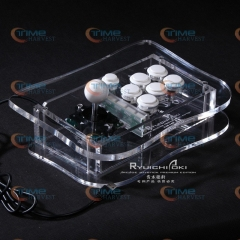 The game pro joystick with Sanwa buttons and the sanwa joystick and button USB,PC, PS3 Arcade rocker with fighting game feelling