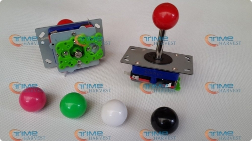 Free shipping ZIPPY Joystick Long shaft 2 way, 4 way, 8 way joystick with Microswitches for coin operated arcade game machine