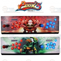 Pandora's Box 5 Arcade Console 960 in 1 Sanwa Joystick Arcade LED Buttons with 2 Players Zero Delay Controller HDMI / VGA Output