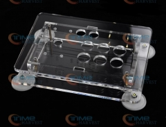 The transparency acrylic case for joystick The rocker plastics acrylic case diaphanous cabinet arcade rocker cover for joystick