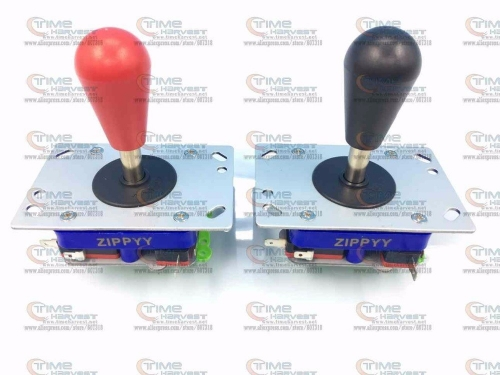 Free shipping Oval ball top ZIPPY Short shaft Joystick with Microswitch balltop 2 way 4 way 8 way restrictor for Arcade machine