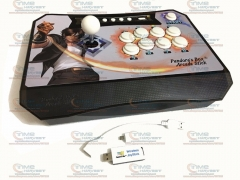 PC PS3 XBOX360 Android 4 in 1 Multifunction Wireless Arcade Joystick Plug and play Wireless Fighting Game Stick Game Controller