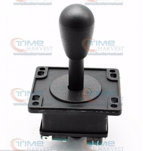 Free shipping Amercian Joystick 8 way operation black Joystick with 4 microswitches Arcade game machine accessories cabinet