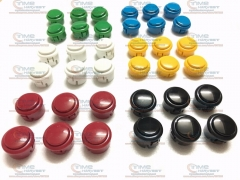 Free Shipping 16 pcs Imitate Sanwa Push Button built-in microswitch / Copy Sanwa Buttons Arcade Game Machine Cabinet accessories