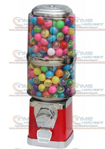 Good Quality Coin Operated Desktop Machine Tabletop Candy Vendor Big Capsule Upright Vending Machine Penny-in-the-slot Vendor