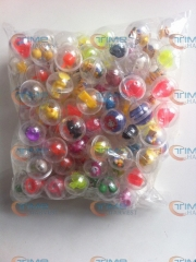 100 pcs/ bag The capsules ball with the toys 32mm capsules cover with mixed style beautiful toys for Toy Vending Vending Machine
