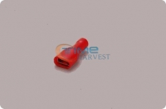 1000pcs/bag 4.8mm Red Female Full Insulated Quick Connector Terminal/Crimp Terminal AWG FDFD1.25-187 for Wires/Jamma Harness