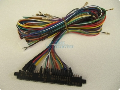 4pcs of Jamma Harness with -5V for Arcade Game Machine/28 Pin wires for arcade game machine