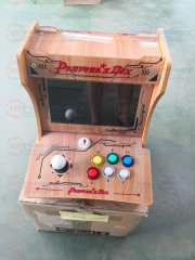 New Pandora Box 9D 2500 in 1 Wooden double players fighting arcade bartop mini arcade machine cabinet diy User self-installation
