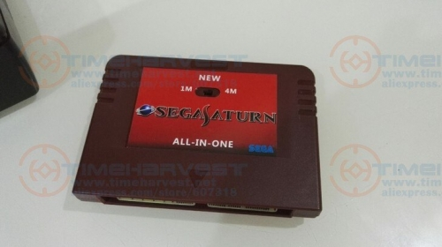 NEW-ALL-IN-1 SEGA SATURN Game Card Pseudo-Saturn KAI SS Direct reading cartridges with Direct reading & Accelerator function