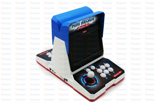 New Pandora Box 9D 2500 in 1 plastic mini arcade 10 inches dual screen 2 Player bartop with 3D games TEKKEN & Mortal Kombat