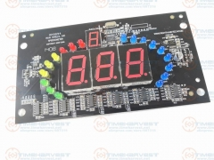 Digital display I/O board for Super bikes 2 Racing Game cabinet parts Coin Operator Arcade Racing Game Amusement Machine