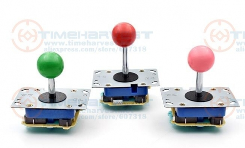 4 pcs EPC Joystick Long shaft electronic circuit PCB joystick with Microswitches arcade parts for coin operated game machine