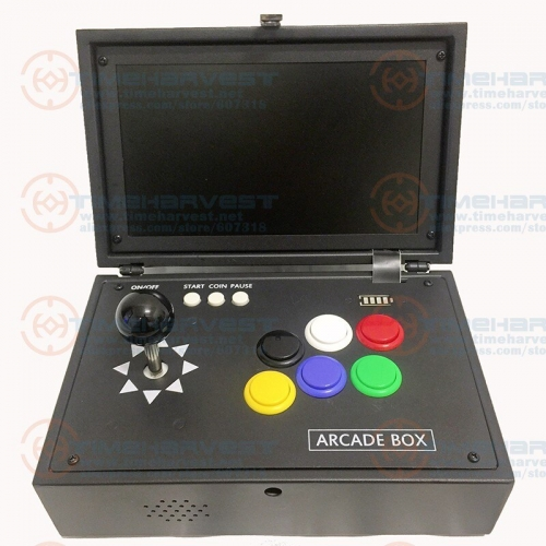 Pandora box Portable Aracde Console 10 inch LCD Monitor Screen Video Game Console 10000 in 1 Portable Mini Arcade Game Machine