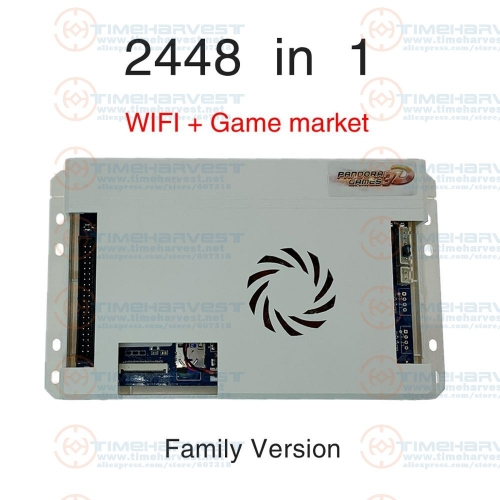 Pandor 3D KING 2020 Newest Wifi 3D 2448 Retro Arcade Games PCB Board 134*3D Games + 2314*2D Games HDMI VGA Output Motherboard