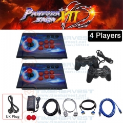 4players with joypad and UK plug cable