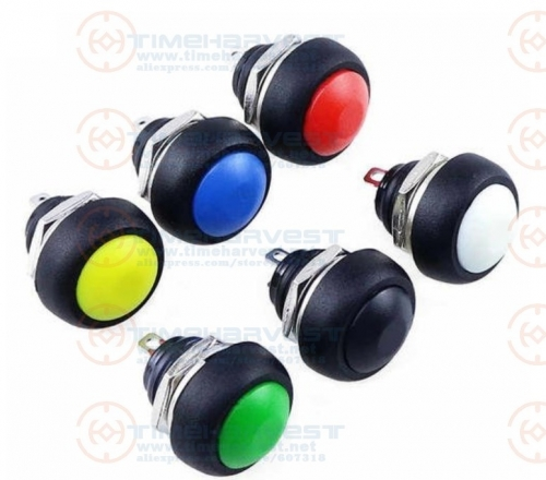 20pcs 18mm Service Button Small Push Buttons Switch for arcade cabinet accessories coin operated arcade game machine parts