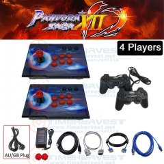 4players with joypad and AU plug cable