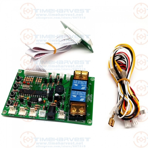 JY-142 Coin Changer Control Board with wires, Banknote exchange to Coin or Token Main control board for washing machine device