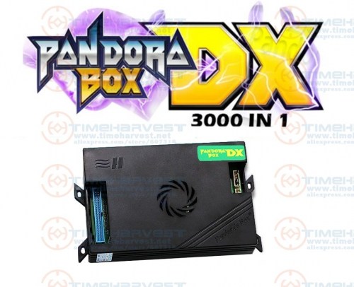 Pan dora Box DX family version 3000 in 1 have 3d and 3P 4P game Can save game progress High score function tekken Killer instinct
