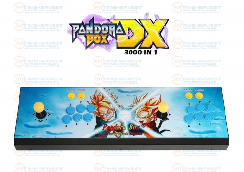 Pan dora Box DX 3000 in 1 Arcade Console with 3d Games 2 players New Version can save game progress High score VGA HDMI output